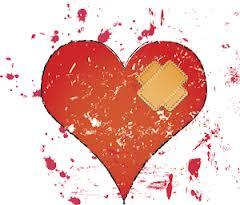 Injured heart